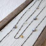 ナッツアクセサリー教室 1月「木の実とチェーンで繋ぐロングネックレス」