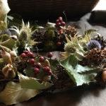 吉本博美「花と木の実で遊ぶ会」