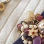ナッツアクセサリー教室 1月「木の実で作るブローチ」