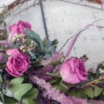 1DAYドライフラワー教室 4月「春色!バラとカーネーションのリース」